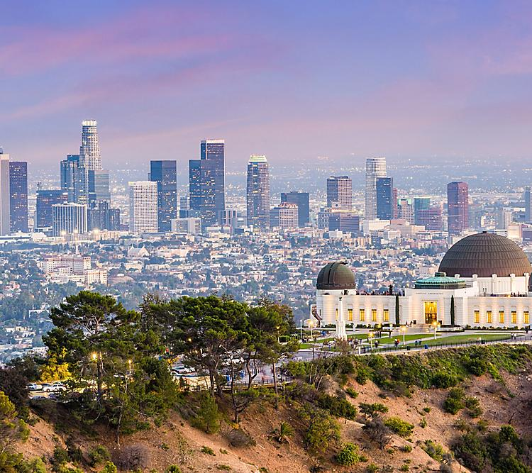 Griffith Park Los Angeles Skyline