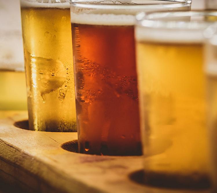 Los Angeles beer flight