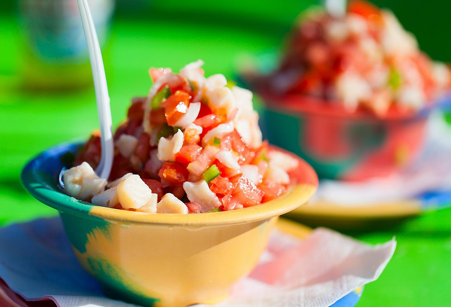 Grand Cayman Conch Salad Seafood