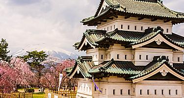 Aomori Japan Hirosakicastle in Spring
