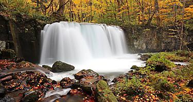 Aomori Japan Towada Hachimantai National Park Waterfall