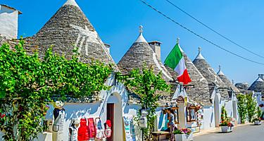 Trulli Houses in Alberobello. Bari, Italy.
