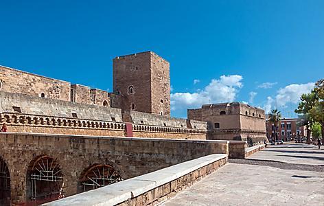 The Castello Svevo is a castle in the Apulian city of Bari.