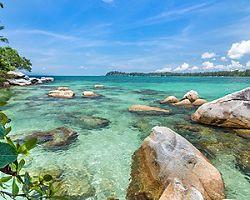 Clear Waters in Bintan Island Indonesia