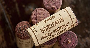 France Bordeaux Wine Cork Red