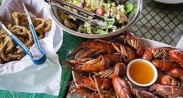 Cairns, Australia Seafood Salad