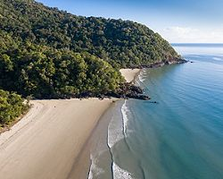 Cairns, Australia Aerial View Noah Beach