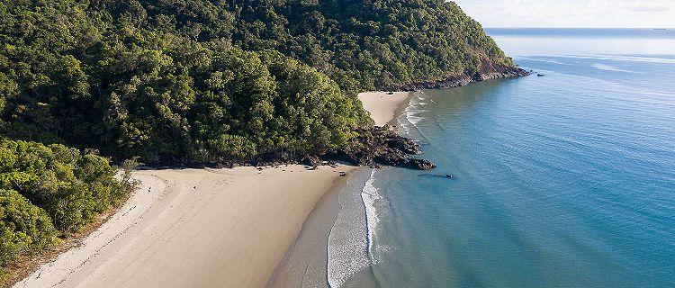 Cairns, Australia Aerial View Noah Beach