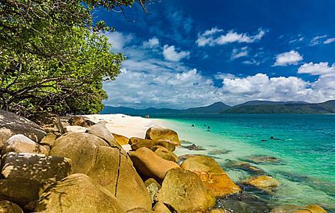 Nudey Beach Fitzroy Island Cairns Queensland Australia