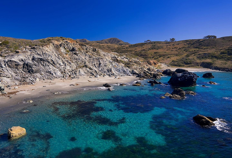 Beach Cove Catalina Island, California