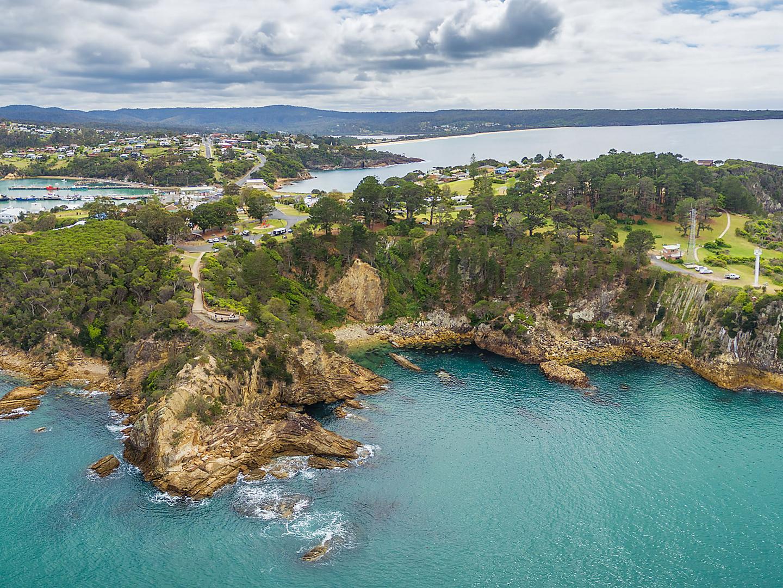 Eden Australia Aerial Panaroma