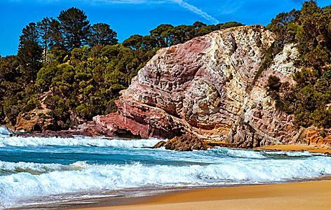Eden Australia Asling Beach Golden Sand