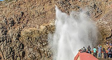 The Bufadora Ensenada Baja California Mexico