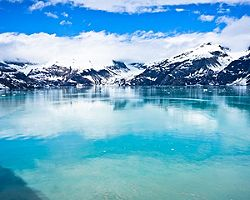 Alaska Glacier Bay Mountains