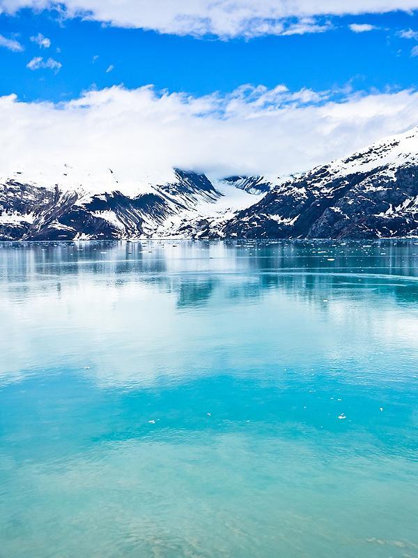 Alaska Glacier Bay Mountains