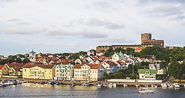 Marstrand island, Bohuslän, Sweden