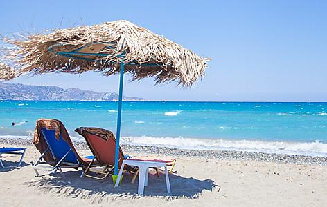 Greece Crete Beach Amoudara