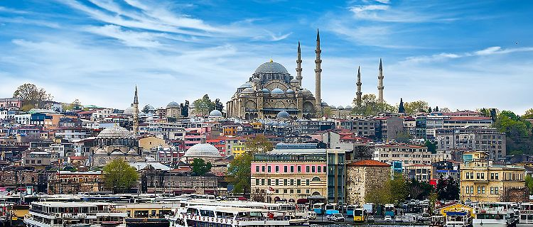 Turkey Istanbul de Hoofdstad City View
