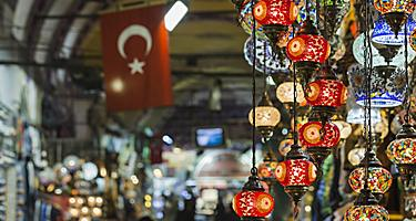 Turkey Istanbul Grand Bazaar Shopping