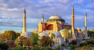 Turkey Istanbul Hagia Sophia Domes