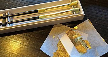 Japan Kanazawa Gilded Chopsticks