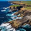 Cliffs off the Coast, Kirkwall, Scotland