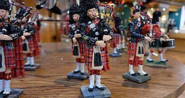 Scottish Souvenir Dolls, Kirkwall, Scotland