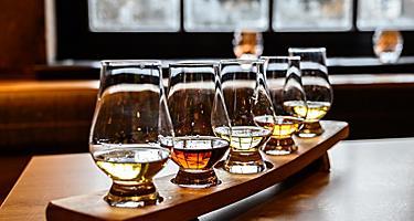 Blended Whiskey Spirits on Distillery Tour, Kirkwall, Scotland