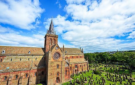 St Magnus Cathedral, Kirkwall, Scotland