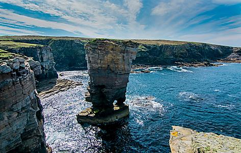 Yesnaby Cliffs Coast Line Kirkwall, Scotland