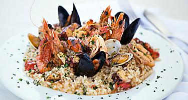 Slovenia Risotto Shrimp Mussels
