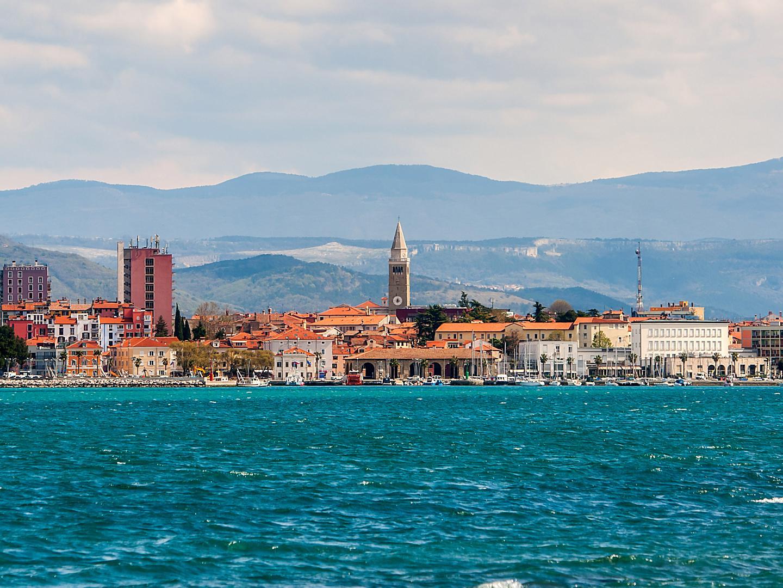 Slovenia Koper Town Coast