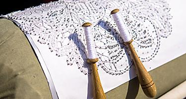 Slovenia Handmade Craft Lace Making
