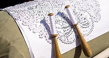 Slovenia Handmade Craft Lace Making