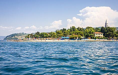 Slovenia Koper Sea View Landscape