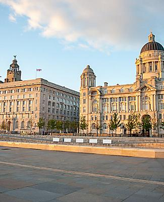 England Liverpool City Centre Three Graces