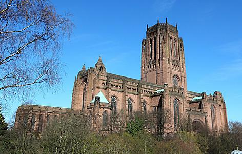 England Liverpool Cathedral Merseyside County