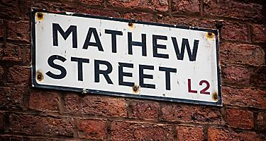 England Liverpool Cavern Quarter Mathew Street