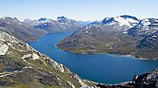 A fjord in Nuuk, Greenland