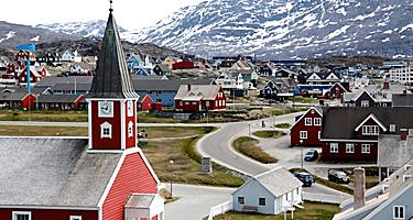 The Church of our Saviour in Nuuk, Greenland