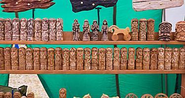 Russia Samara Amulet Wooden Toys