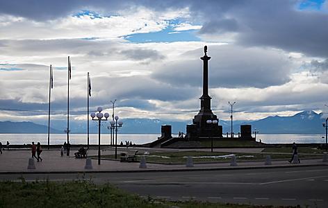 Russia Petropavlovsk Kamchatsky Avacha Bay