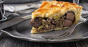 Local Cuisine Venison Pie of Port Arthur