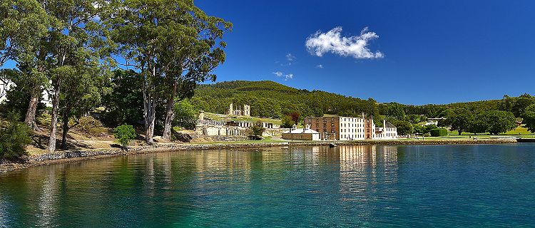 Port Arthur Harbor Historic Homes Overlooking Water