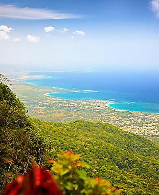 Puerto Plata Dominican Republic Aerial