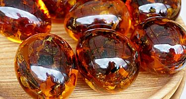 Dominican Republic Amber Balls Local Shopping