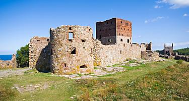 Hammershus castle - the biggest Northern Europe castle ruins