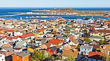 Saint Pierre Miquelon Panorama Aerial