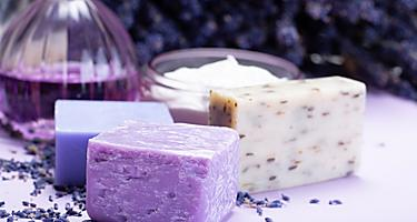 Saint Pierre Local Shopping Lavender Soap and Essential Oil