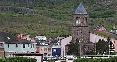 Saint Pierre Miquelon Cathedral Foothills